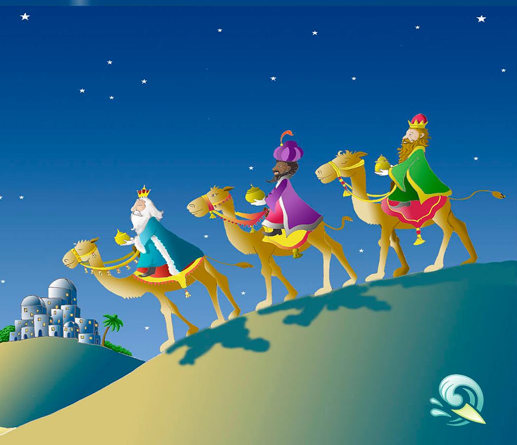 Felicitaciones De Navidad Con Los Reyes Magos.Felicitacion De Navidad De Los Reyes Magos Niza Regalos De
