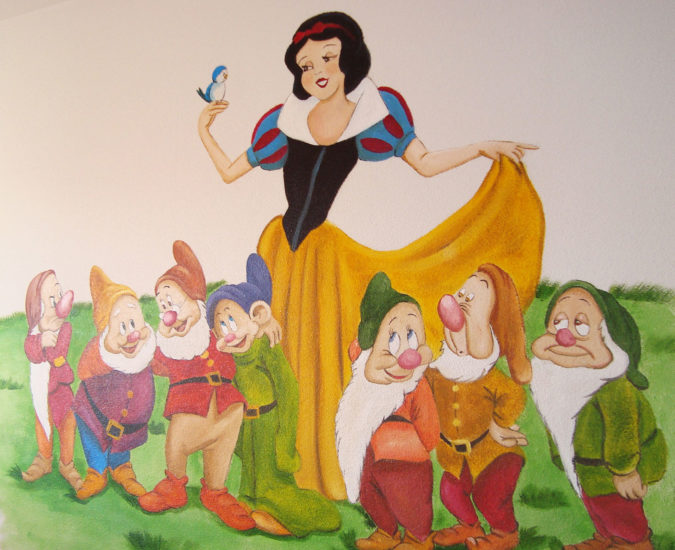 Ideas habitaciones infantiles de princesas